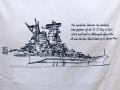 Tシャツ【戦艦大和(LastNavalBattle)】
