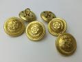 大日本帝国海軍・制服用金ボタン(桜に錨)
