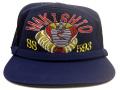 部隊識別帽(潜水艦まきしお)サイドメッシュ・アゴヒモ付