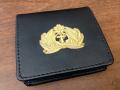 レザーコインケース(海軍士官軍帽前章)