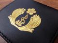 レザーコインケース(海上自衛隊海曹制帽前章)