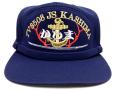 部隊識別帽(練習艦かしま)アゴヒモ付き
