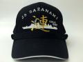 部隊識別帽(護衛艦さざなみType2[キャップタイプ])・アゴヒモ付