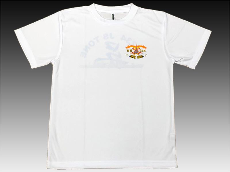 Tシャツ(護衛艦とね)Type2[左胸ロゴマーク]