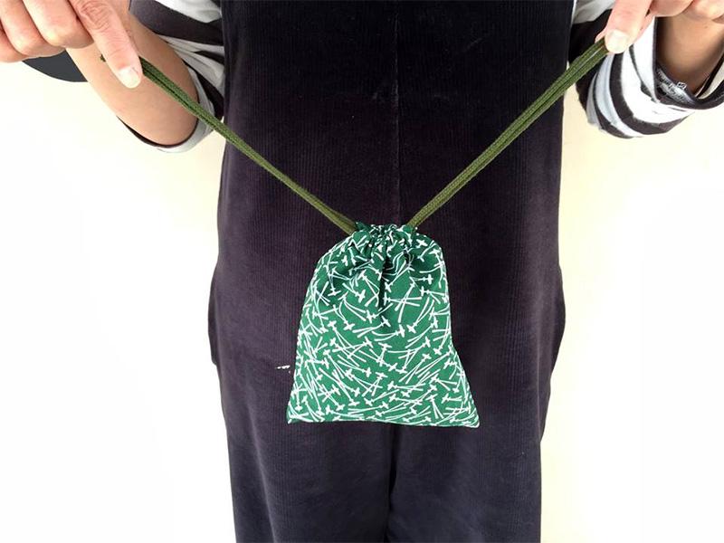 零戦松葉巾着袋