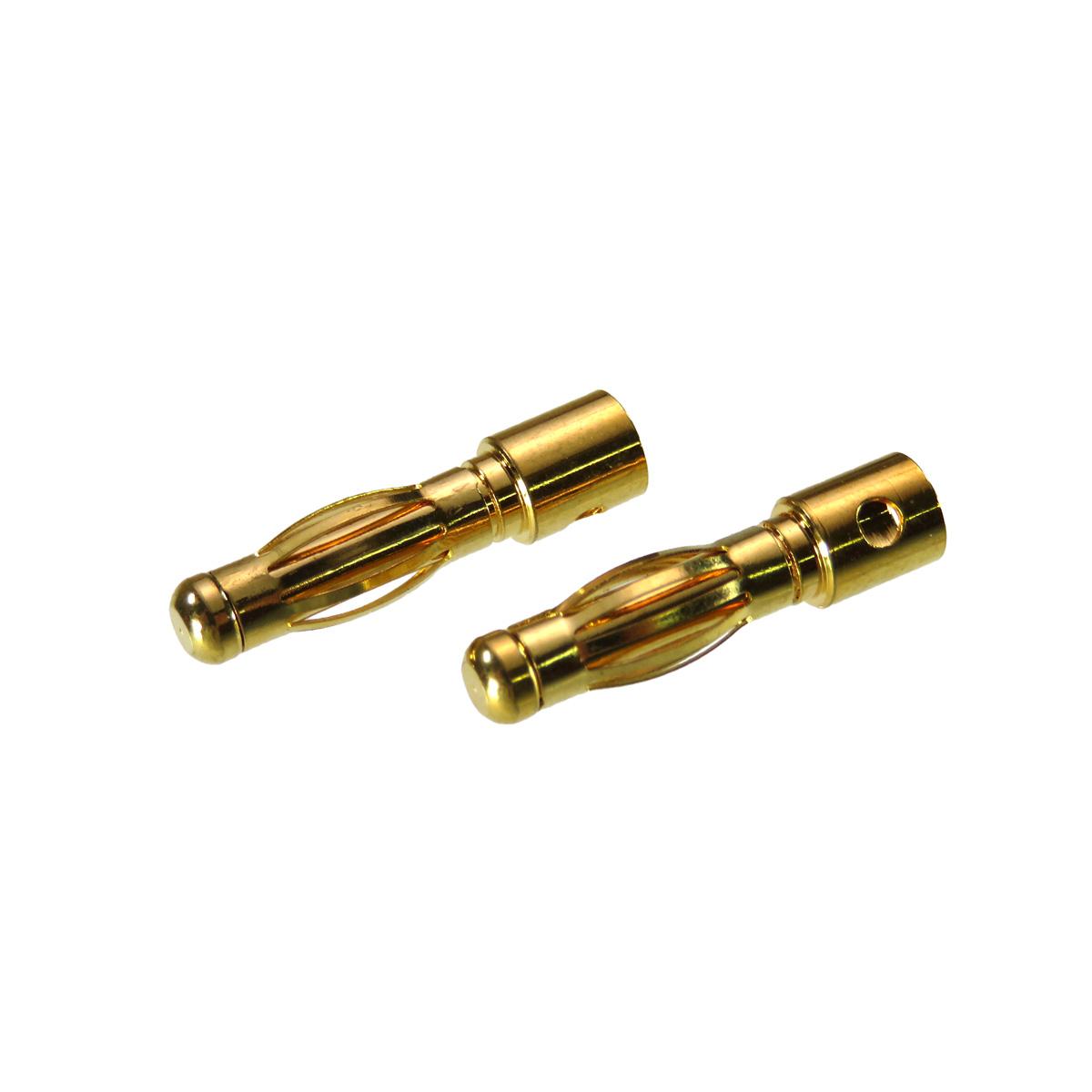 ヨーロピアンコネクター φ4mm オス2個セット