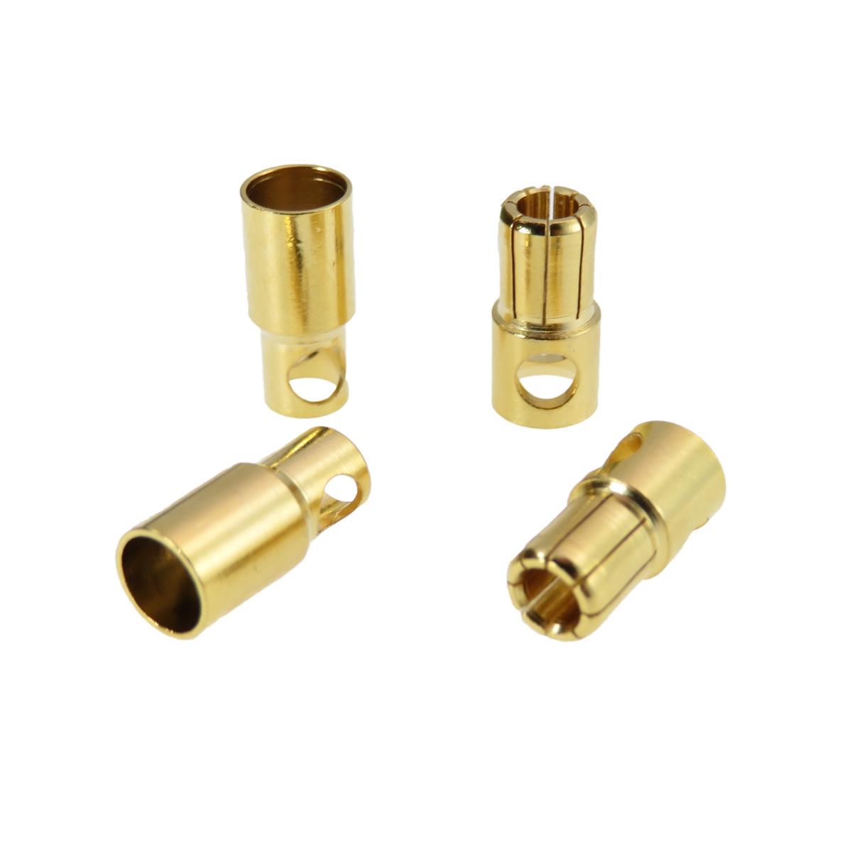 ヨーロピアンコネクター φ6mm オス・メス各2個セット