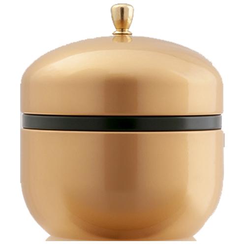 【鈴子缶】 塗 金箔入こんぶ茶