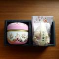 鈴子缶入梅入こんぶ茶と和三盆菓子セット