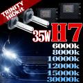 HID H7 キット 35W HIDフルキット HIDキット ヘッドライト キセノン ディスチャージヘッドライト HIDライト hid H7 車 パーツ カー用品 ケルビン数【6000K 8000K 10000K 12000K 15000K 30000K選択