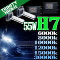 HID H7 キット 55W HIDフルキット HIDキット ヘッドライト キセノン ディスチャージヘッドライト HIDライト hid H7 車 パーツ カー用品 ケルビン数【6000K 8000K 10000K 12000K 15000K 30000K選択