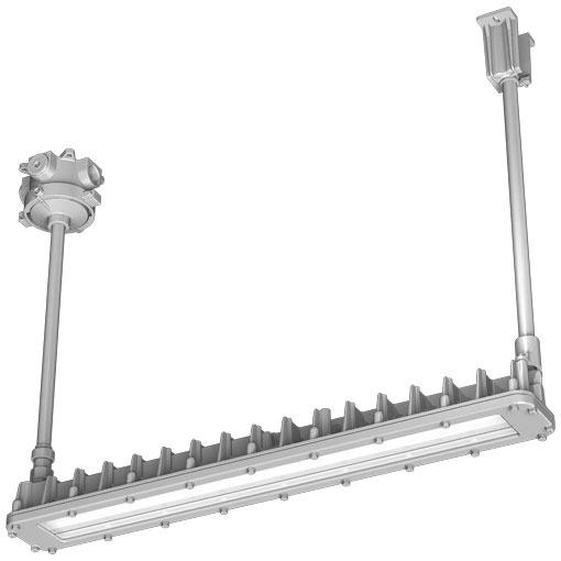 EXICL2041BSA9-28岩崎電気照明器具 レディオック防爆形LED照明器具室内屋外パイプ吊形Hf32W×2灯用