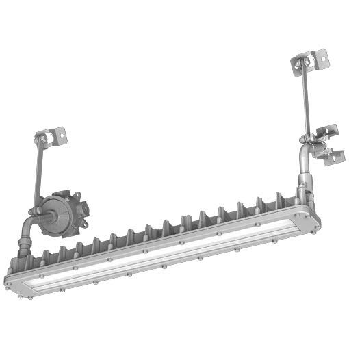 EXICL3041BSA9-28岩崎電気照明器具 レディオック防爆形LED照明器具室内屋外30°ブラケット形Hf32W×2灯用