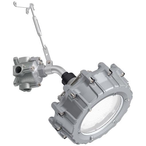 EXIL3102SA9-28岩崎電気照明器具 レディオック防爆形LED照明器具室内屋外40°ブラケット形セラミックメタルハライドランプ360W相当