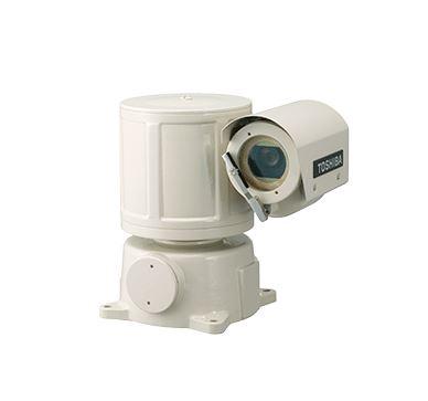 TE3000B 東芝テリー受注生産 防爆カメラ装置屋内屋外レンズ内蔵旋回装置一体型ワイパー