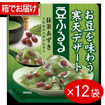 豆ふるる抹茶あずき12袋