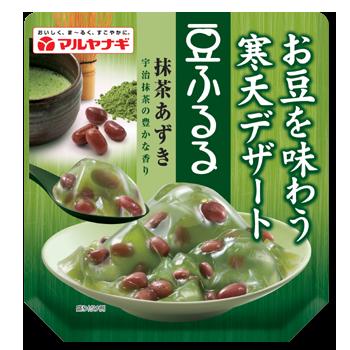 豆ふるる抹茶あずき