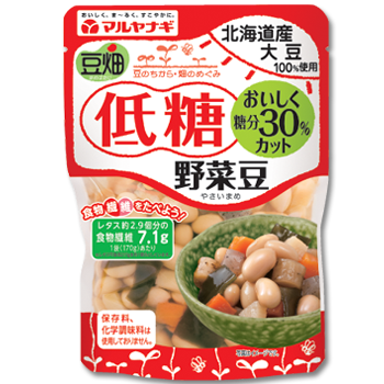 低糖野菜豆