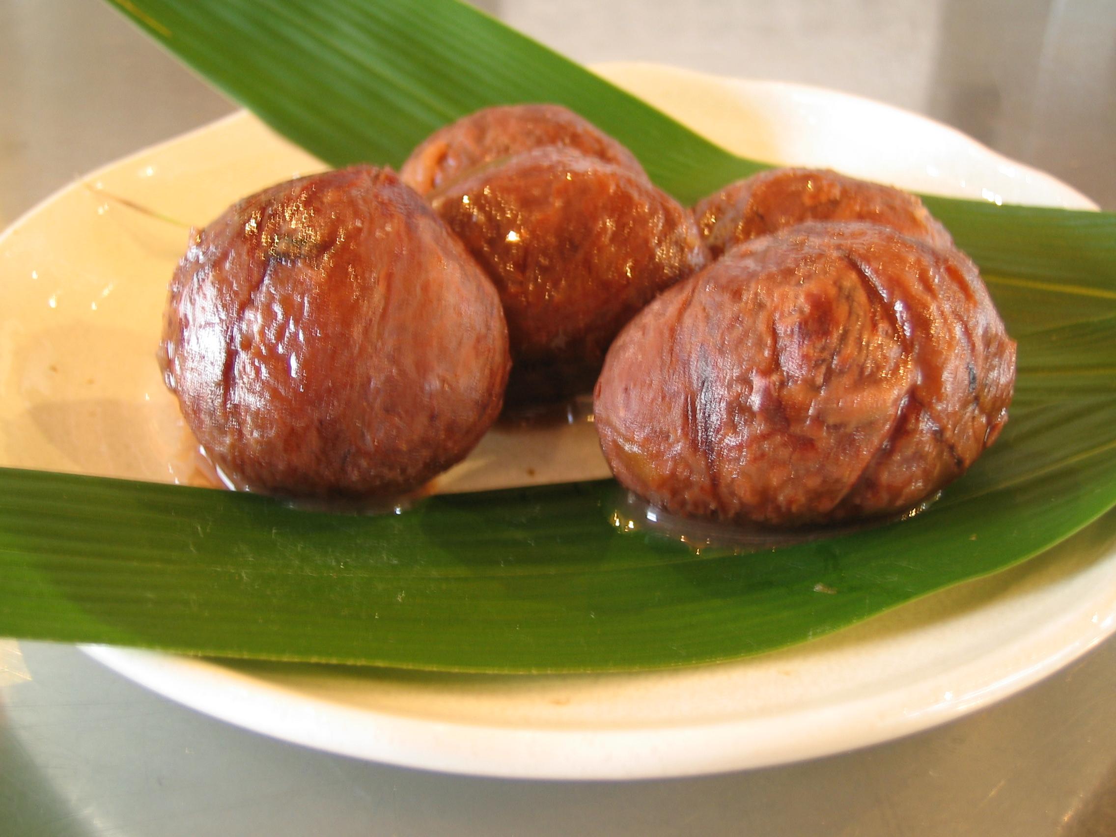 清和の栗渋皮煮 5粒
