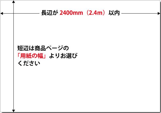 式次第 2400mm以内