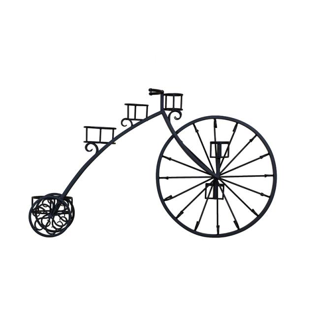フラワースタンド,アイアン,プランターボックス,ロートアイアン,フラワーボックス,自転車,花台,おしゃれ,鉄,大きい,ガーデン