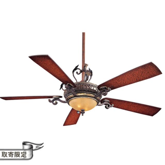 ナポリ2灯シーリングファン・空調照明/照明付き/ダウンロッド型