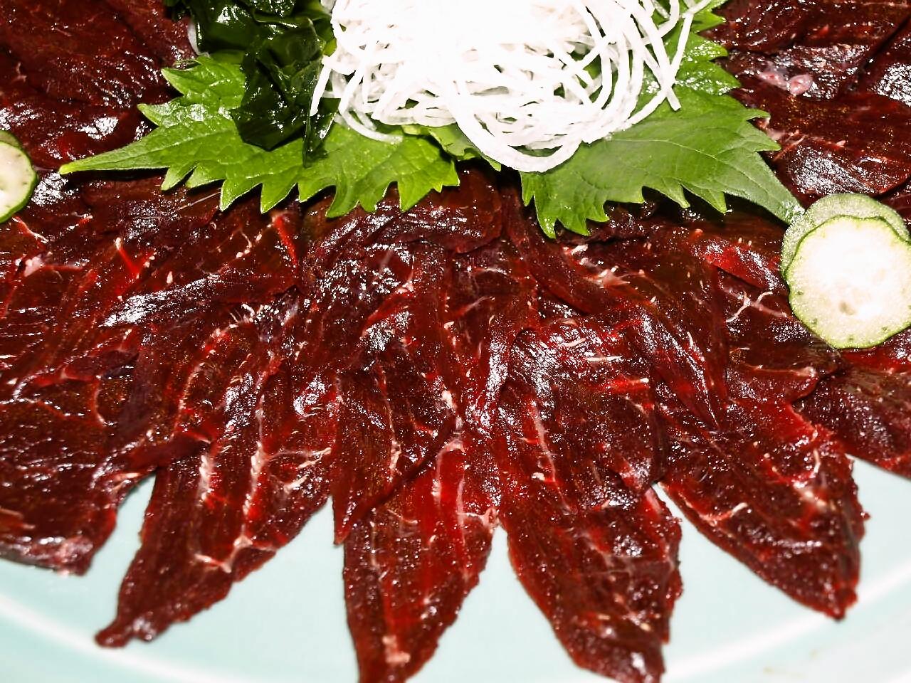 熟成赤肉(お刺身用)