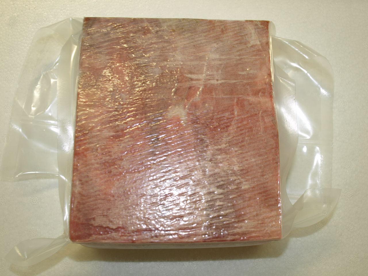 鯨赤肉(赤身)【加工料理用】約1.1kg(関太郎印のくじら)