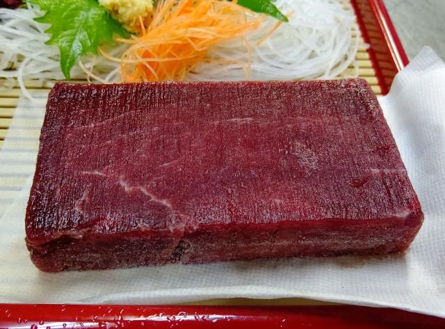赤肉柵皿盛り