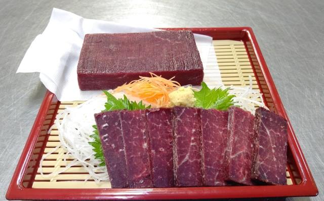 赤肉柵スライス皿盛り
