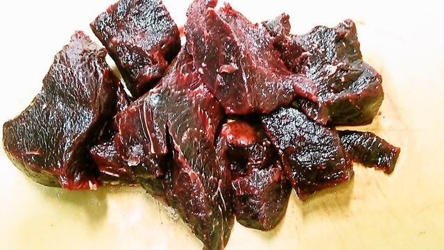 赤肉調理用解凍後