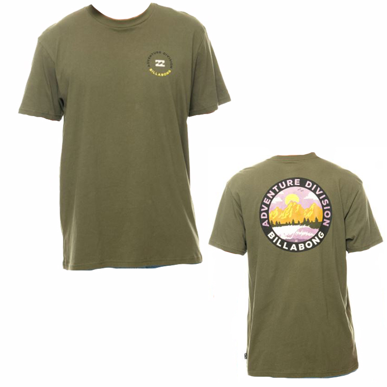 BILLABONG ビラボン BB011129 メンズ プリントTシャツ インポートサイズ