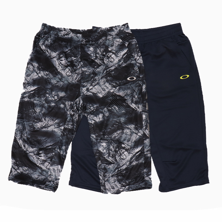 OAKLEY オークリー FOA402413 3/4パンツ ジムパンツ 7分丈パンツ 吸汗速乾素材