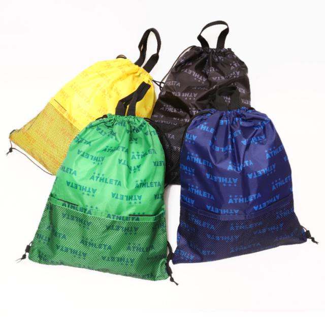 ATHLETA アスレタ 05270 ランドリーバッグ マルチバッグ ナップサック リュック ゆうパケット対応商品
