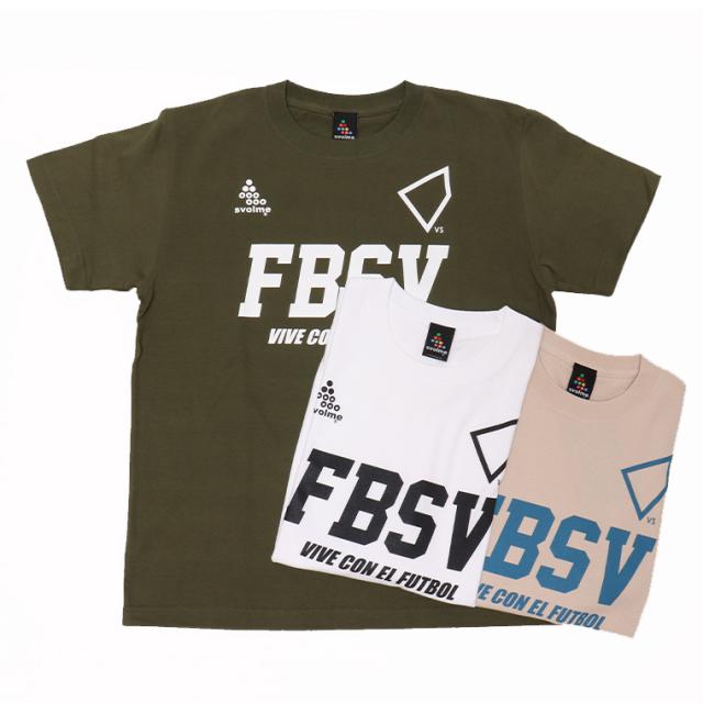 SVOLME(スボルメ) 1211-84700 Tシャツ 綿100% FBSV 半袖 シャツ