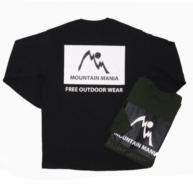 MOUNTAIN MANIA(マウンテンマニア)GSL317 ロングTシャツ プリントTシャツ