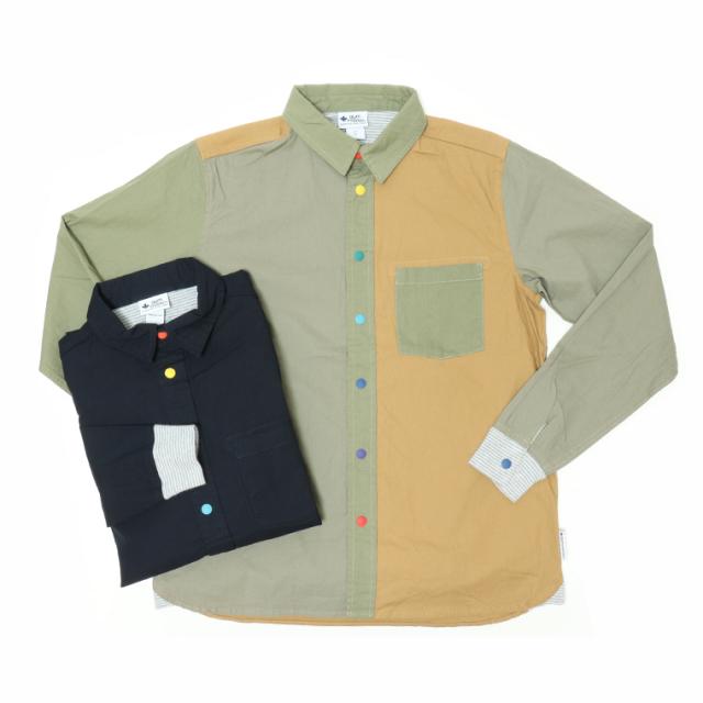 gym master(ジムマスター) G533647 カラフルボタン 2WAYシャツ