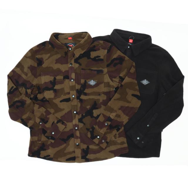 686 シックスエイトシックス MOWLAY05 SIERRA FLEECE FLANNEL フリースジャケット