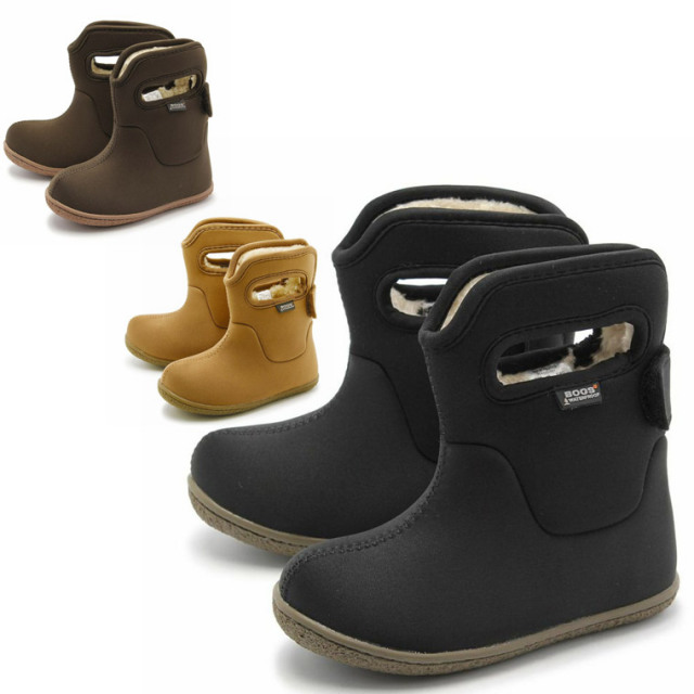 BOGS(ボグス)BABY BOOTS クラシック ソリッド ショート ブーツ 71392 お取り寄せ商品1週間~10日