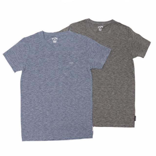 BILLABONG(ビラボン)BA011-307 VネックTシャツ T/Cスラブ ゆうパケット対応商品