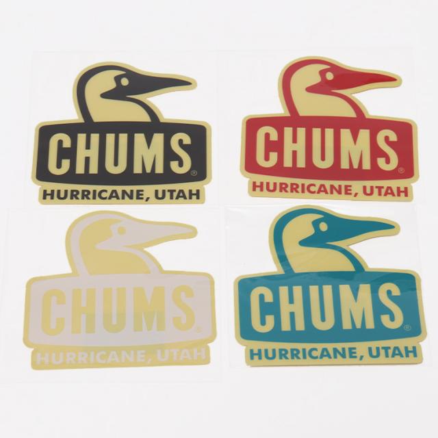 CHUMS(チャムス) CH62-1124 ステッカー BOOBYFACE 7.3cm×7.7cm ゆうパケット対応商品