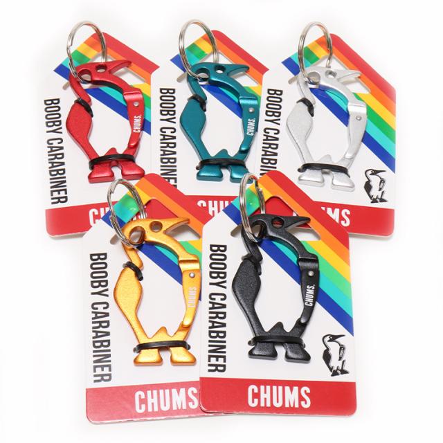 CHUMS チャムス CH62-1192 ブービーカラビナ キーホルダー ゆうパケット対応商品