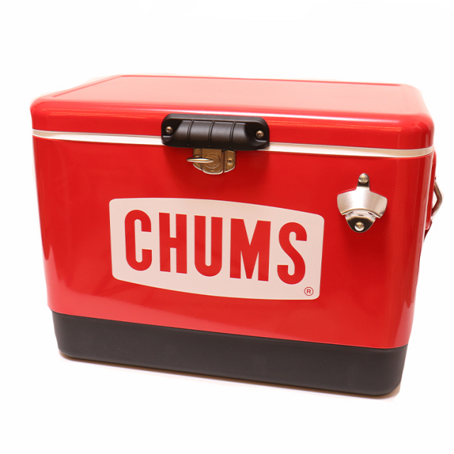 CHUMS(チャムス) CH62-1283 STEEL COOLER BOX クーラーボックス54L お取り寄せ商品1週間~10日