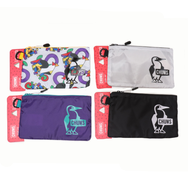 CHUMS チャムス CH60-3037 フラットポーチ EASY-GO FLAT POUCH ゆうパケット対応商品