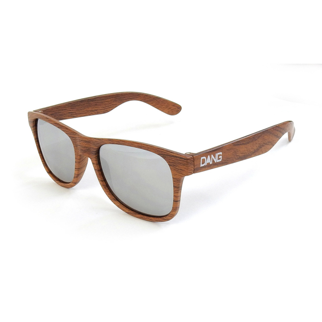 Dang Shades vidg00337 LOCO Wood Matte X Chrome Mirror サングラス