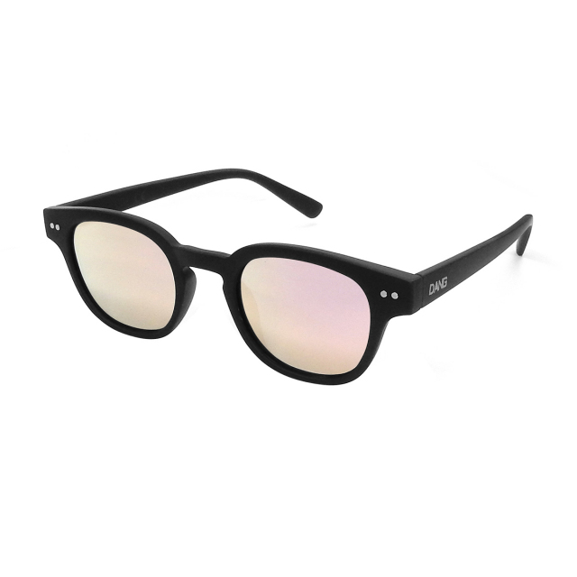 Dang Shades vidg00369 ZENITH Black Soft x Rose Mirror Polarized(偏光レンズ)サングラス