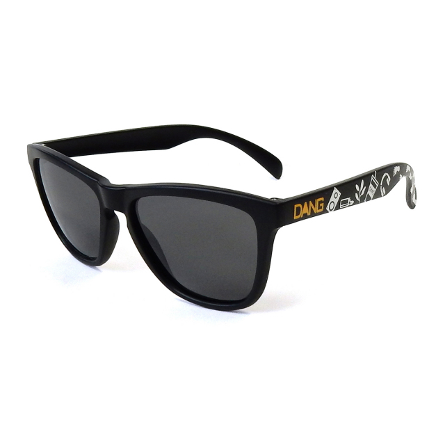 Dang Shades vidg00386 ORIGINAL Black Matte x Black Smoke Polarized(偏光レンズ)サングラス