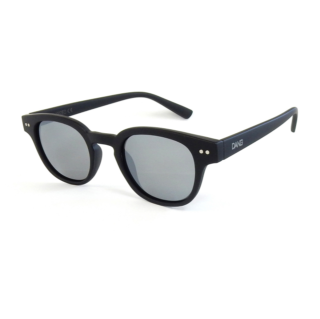 Dang Shades vidg00394 ZENITH Black Soft x Chrome Mirror Polarized(偏光レンズ)サングラス