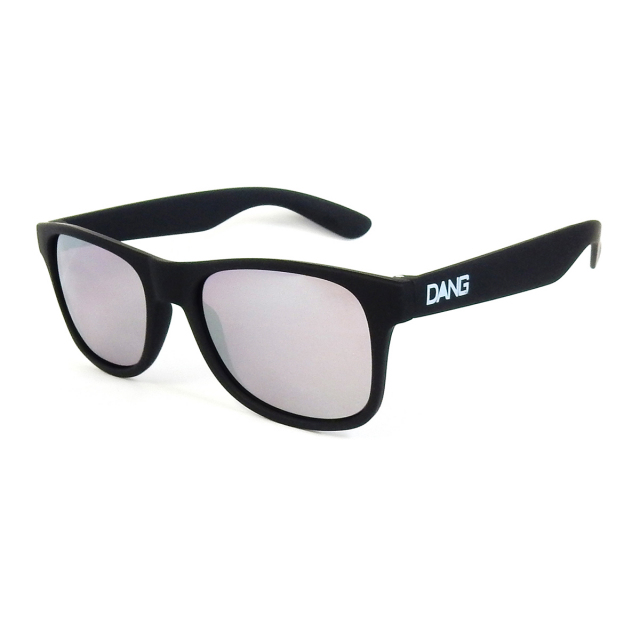 Dang Shades vidg00396 LOCO Black Soft x Silver High Contrast CAT4 Lens サングラス