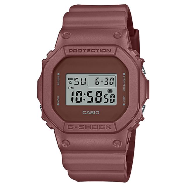 G-SHOCK DW-5600ET-5JF 「アースカラースペシャルコレクション」キャニオンレッド 腕時計 アウトドア